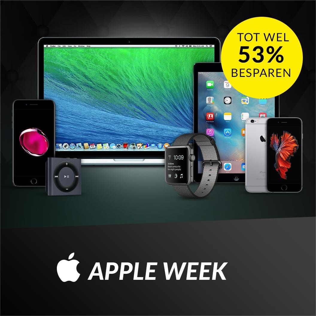 APPLE WEEk Voor alle Apple liefhebbers!